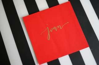 Hand-written Wedding Invitation Envelope Calligraphy DIY 手寫英文書法 囍帖 請帖 請柬 信封 心意卡 生日卡