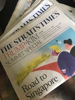 Straits Times Trump-Kim summit special feature