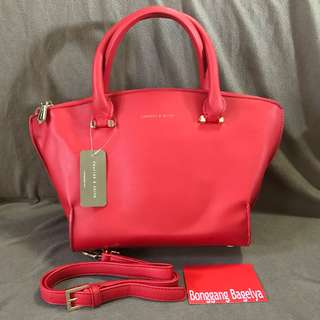 Authentic Charles & Keith Top Handle Bag with flaw