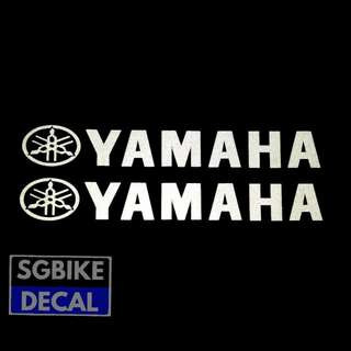 2pc Yamaha Decal
