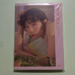 taeyeon official postcard set