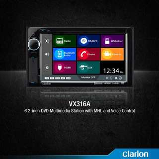 Clarion Car Audio VX316A