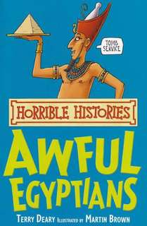 Horrible Histories Awful Egyptians Book