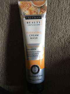 freeman beauty infusion hydrating cream mask manuka honey