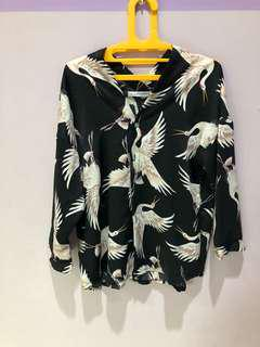 Bird black top