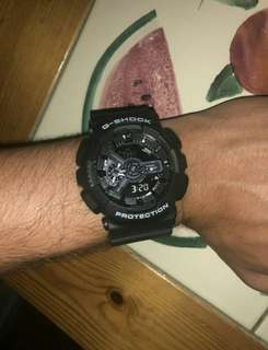 Casio G shock GA-110 Black