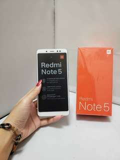 Promo Buebb  😍 New Redmi Note 5 $2000 RAM 4Gb Rom 64Gb free headset Bluetooth and case  warranty 1years