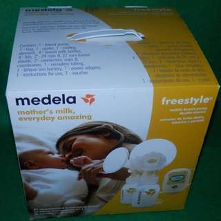 Medela Freestyle Mobile Breast Pump Double Electric (Brand New Never opened/ Never used)