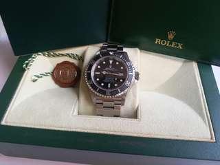 (Sold)勞力士Rolex 16600 sea-dweller 888行貨