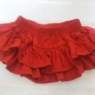 全新3~6M褲裙