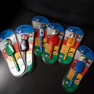 掛繩08年奧運福娃原子筆