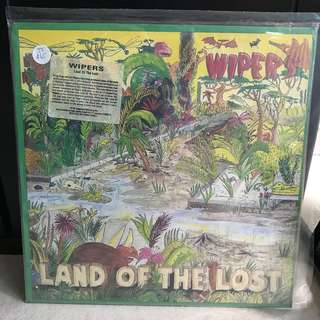 Records Vinyl - Wipers - Land Of The Lost LP