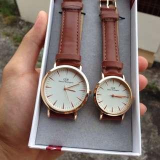 Daniel Wellington Couple Set Watch (CLEARANCE STOCK)