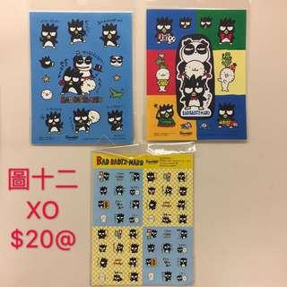Sanrio XO仔 (Bad badtz-maru) 絶版 貼紙