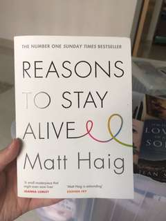 Reason to stay alive by matt haig