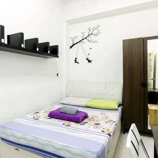 Master room at chinatown. Room code: 03M2