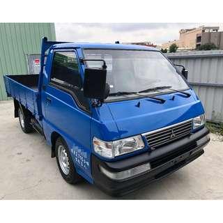 2011年~ 中華三菱~ 得利卡 貨車~ 2.4L 手排 ~ 頭家首選~ 藍