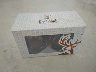 Glenfiddich whiskey/whisky glass cup