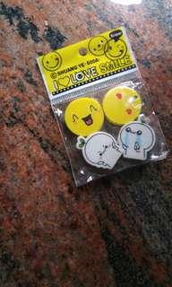 Emoji eraser (can be charm of slime )
