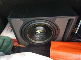 Car audio system + reverse camera