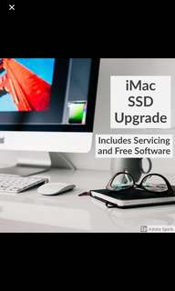 iMac SSD Upgrade Servicing