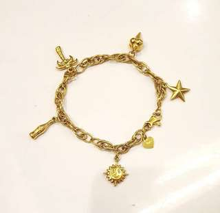 10.3g 18k Saudi Gold Bracelet ❤️BIG SALE P28k ONLY❤️ Swipe for detailed pics  Cash/card/layaway accepted