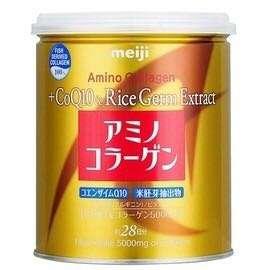 日本進口明治膠原蛋白粉奢華版-璀璨金罐裝(200g) 4罐免運