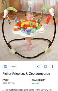 Jumperoo Luv u zoo