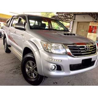 2016 Toyota HILUX 2.5 G VNT (M) NEW FACELIFT MODEL