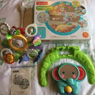 Fisher Price Deluxe Crib to Floor Mobile