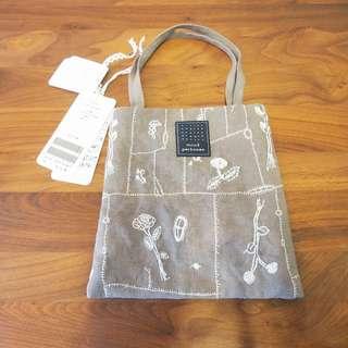 日本Mina Perhonen花花布袋tote bag