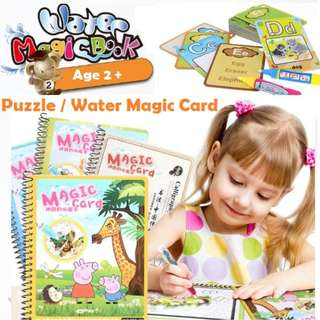 🚚 Water Coloring Book (Reusable)
