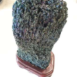 ORIGINAL RAW LEKLAI STONE ROCK RAINBOW COLOR