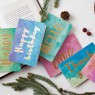 [PO] WATERCOLOUR GREETING CARDS