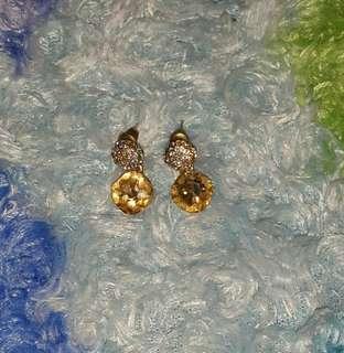 SALE Studded Dew Drop Earrings