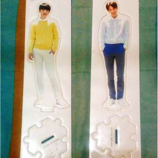 EXO Nature Republic Kyungsoo/D.O and Jongin/KAI standee