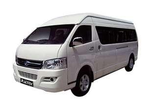 Van 11/14/18seater for rental