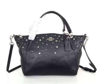 Coach kelsey stardust satchel medium