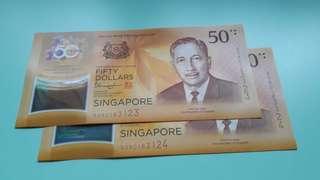 CIA $50 Notes