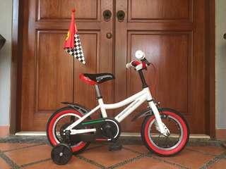 Sepeda Anak Scuderia Ferrari (seken)
