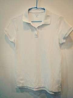 🚚 NET LADIES 白色POLO衫