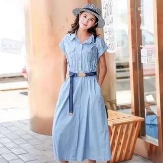 items🌟Denim Dress