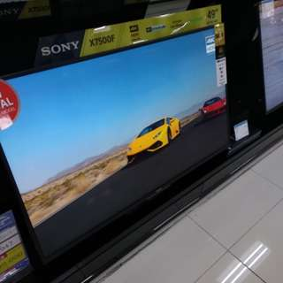 Led TV Sony 49 inchi Android TV 4K Kredit Tanpa CC