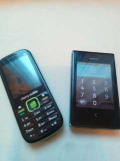 PHONE BUNDLE [NOKIA ASHA 502 & CHERRY MOBILE KEYPAD]