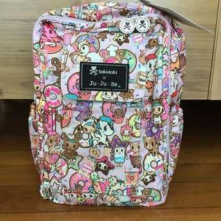 🚚 Bundle. BNWT Jujube Tokidoki Donutella's Sweet Shop DSS Minibe MB + BNIP Rose Gold Sakura Swirl SS Be Quick with pink lining