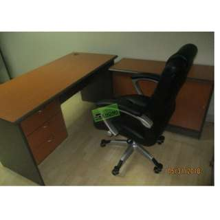 HB-EM105 EXECUTIVE CHAIRS BLACK LEATHERETTE--KHOMI