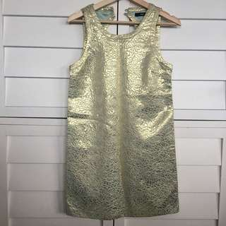 Sportsgirl pretty gold dress