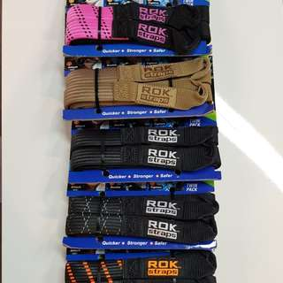 Rok Straps MOTORCYCLE STRETCH STRAP - Assorted colours