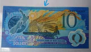 紐西蘭千禧紀念钞