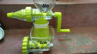 ILO manual Juicer and Mincer